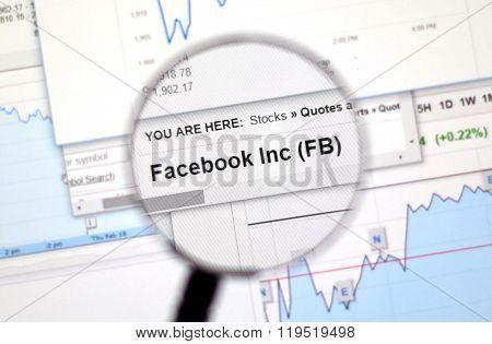 Fb - Facebook Stock.