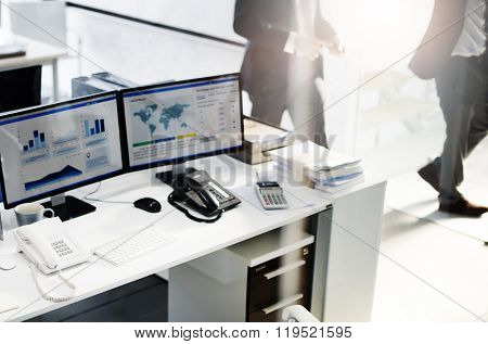 Accounting Workplace Strategy Business Bookkeeping Concept