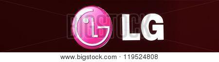 Bright Logo Of LG.
