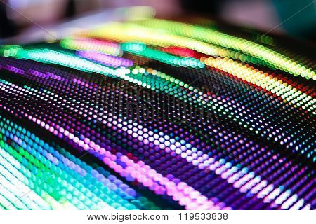 Colored Curved Led Smd Screen