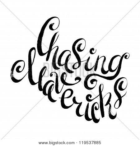 Chasing Mavericks. Surfing Print