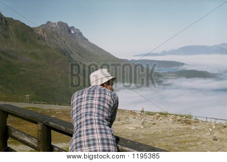 Man In Mountains