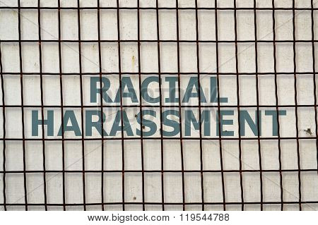 Text Racial Harassment