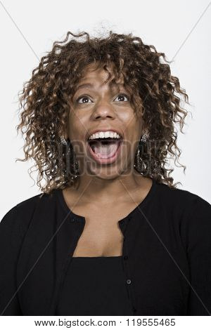 Portrait of mid adult African American woman
