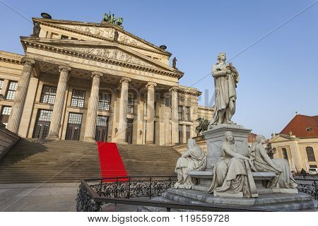 Berlin, Germany - April 11, 2014: Concert Hall At The Gendarmenmarkt, Berlin