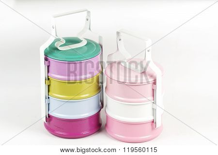 Colorfull Three Tier Food Container