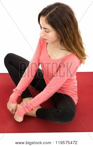 Hip Opening Butterfly Pose