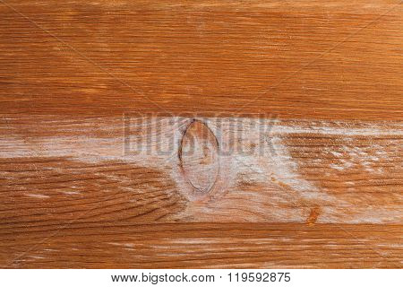 Texture Of Wooden Board With Knot