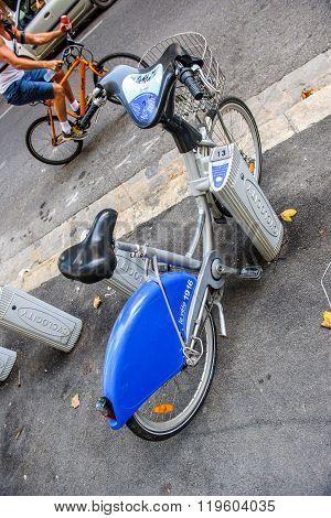 Le Velo Sharing Bike Service France