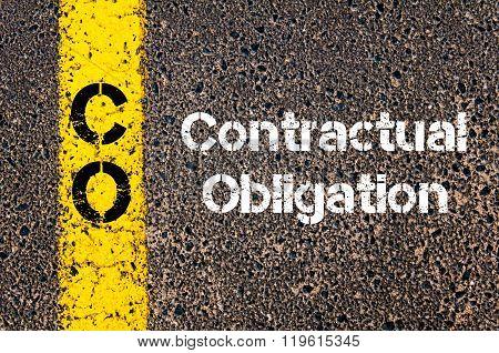 Business Acronym Co Contractual Obligation