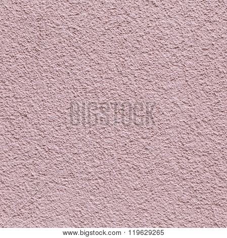 Pink Painted Plaster Wall