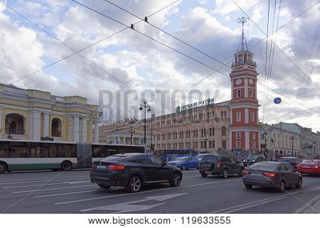 Evening In The White Nights On July 5; 2015 In St. Petersburg