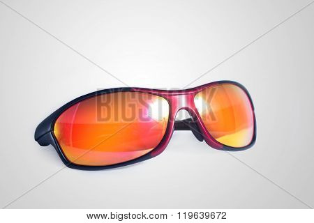 Red and black shades
