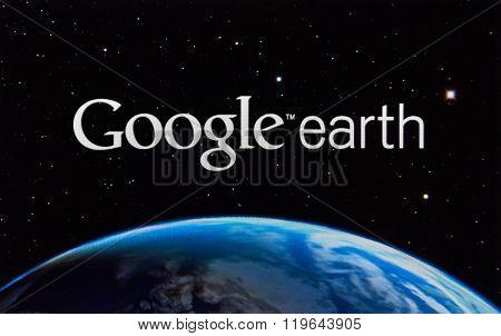 Google Earth App.
