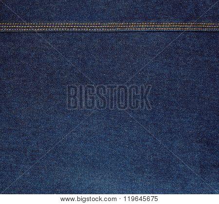 Raw Blue Denim