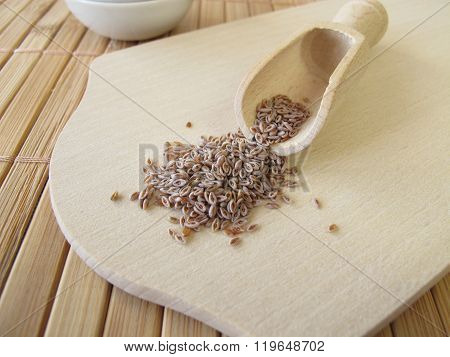 Desert Indianwheat seeds, Plantaginis ovatae semen
