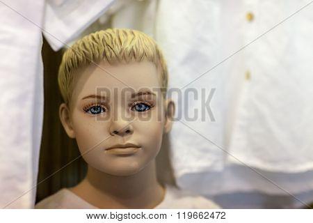 Boy Mannequin In Store