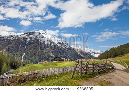 Footpath In South Tyrol