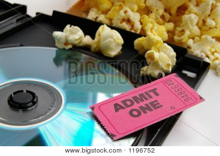 Popcorn And Movie