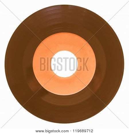 Vinyl Record Isolated Vintage