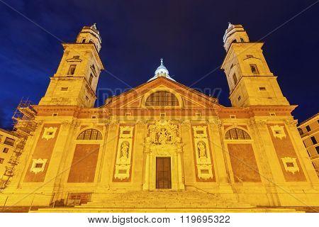 Santa Maria Church In Genoa