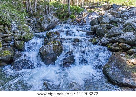 Mounatin Stream In South Tyrol