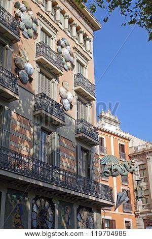 Casa Bruno Cuadros known as Umbrella house