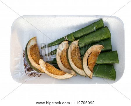 Betel Nut Chewed With The Leaf