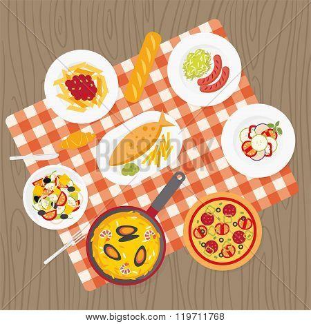 European catering service