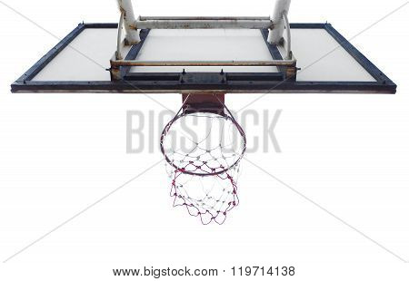 Basketball Hoop Cage