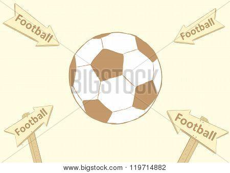 Arrows on soccer