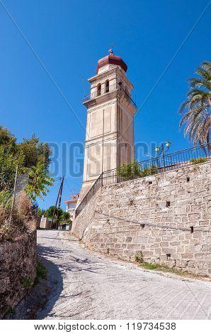 Church Tower In Zante Town