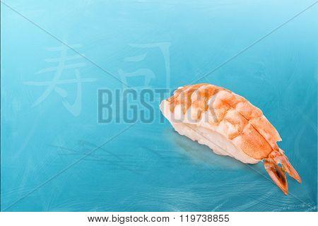 The Ebi sushi