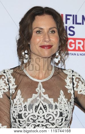 LOS ANGELES - FEB 26:  Minnie Driver at the The Film is GREAT Reception Honoring British 2016 Oscar Nominees at the Fig and Olive on February 26, 2016 in West Hollywood, CA