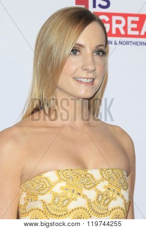 LOS ANGELES - FEB 26:  Joanne Froggatt at the The Film is GREAT Reception Honoring British 2016 Oscar Nominees at the Fig and Olive on February 26, 2016 in West Hollywood, CA