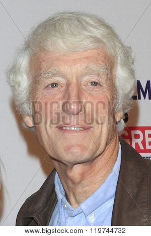 LOS ANGELES - FEB 26:  Roger Deakins at the The Film is GREAT Reception Honoring British 2016 Oscar Nominees at the Fig and Olive on February 26, 2016 in West Hollywood, CA