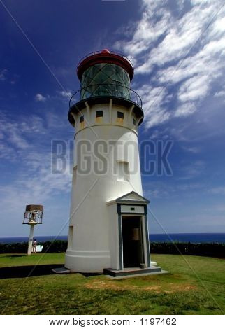 Light House, North Shore, Kauai, Hawaii