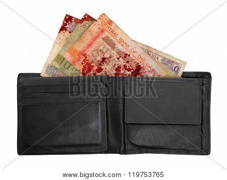 Gambian Dalasi Bank Notes, Blood