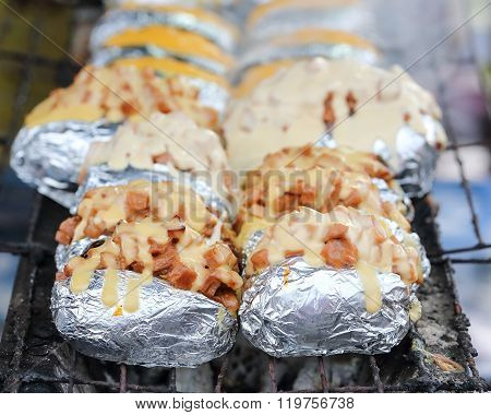 Baked Grilled Potato
