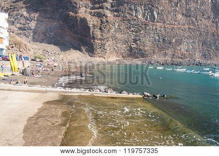 Beach in Vueltas, La Gomera