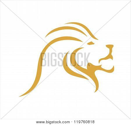 Lion head line
