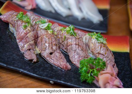 Wagyu Beef Sushi Set