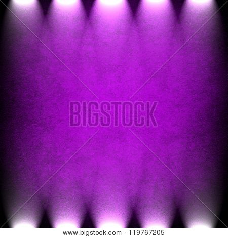 purple painting with spotlight background