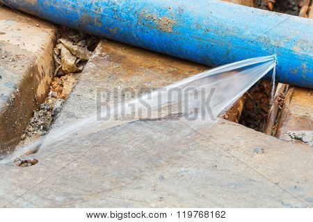 Water Leaking On Pvc Discharge Hose