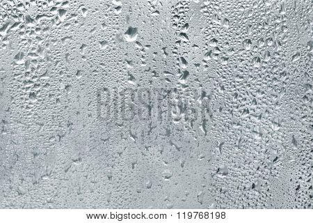 Misted Window Glass