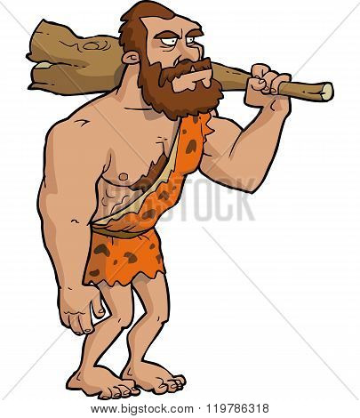 Caveman With Club