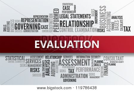 EVALUATION | Business Abstract Concept