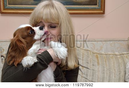 Lady And Cavalier