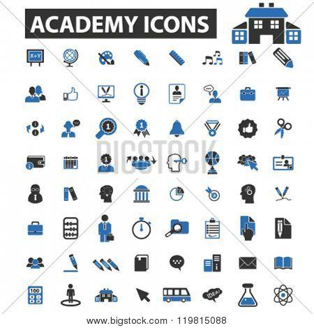 academy icons, academy logo, academy vector, academy flat illustration concept, academy infographics, academy symbols,