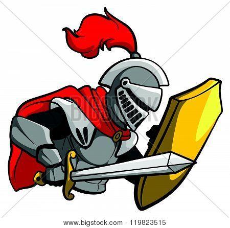 knight sword . eps10 editable vecor illustration design